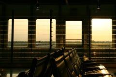 Flughafen-Aufenthaltsraum lizenzfreies stockfoto