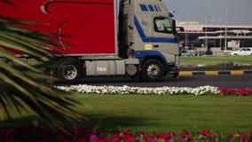 Flughafen Bahrains Internacional - Äußeres 03 stock footage