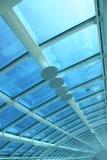 Flughafen-Dach Lizenzfreies Stockbild