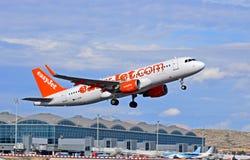 Flughafen Easyjet Alicante Stockfoto