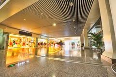 Flughafen-Einkaufsviertel Stockbilder