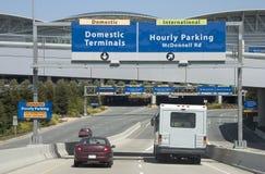 Flughafen Enty Stockbild