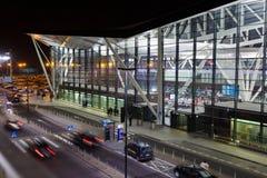 Flughafen in Gdansk Lizenzfreies Stockfoto
