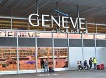 Flughafen Genfs Cointrin Lizenzfreies Stockfoto