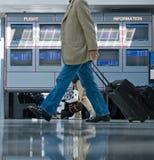 Flughafen-Informations-Vorstände Stockbilder