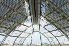 Flughafen-Innenraum Stockfotografie
