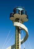 Flughafen-Kontrollturm Stockfotos