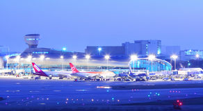 Flughafen Miamis Iternational Stockbild