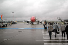 Flughafen Oslo Lizenzfreies Stockfoto