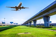 Flughafen in Peking-Porzellan Lizenzfreies Stockbild