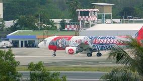 Flughafen Phuket-Verkehr stock video footage