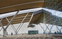 Flughafen Platov, errichtet für die Fußball-Weltmeisterschaft im Jahre 2018 Passe Lizenzfreies Stockfoto
