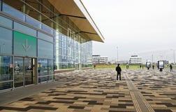 Flughafen Platov, errichtet für die Fußball-Weltmeisterschaft im Jahre 2018 Passe Stockbilder