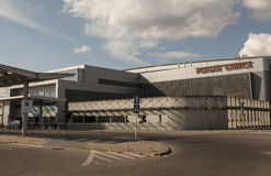 Flughafen in Posen, Polen Stockfotos