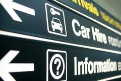 Flughafen Signage