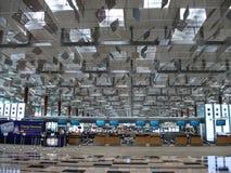 Flughafen Singapur-Changi Stockfoto