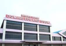 Flughafen in Sorong stockfotos