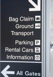 Flughafen-Terminal Lizenzfreie Stockfotos