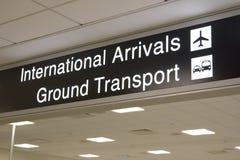 Flughafen-Terminal Stockfoto