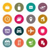 Flughafen und abstrakter Hintergrund der Liniendienste lizenzfreie abbildung
