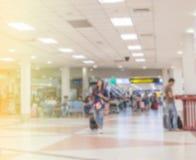 Flughafen unscharfer Hintergrund lizenzfreies stockfoto