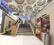 Flughafen von Abu Dhabi Stockfotografie