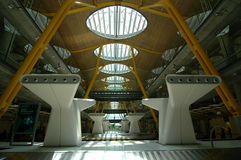 Flughafen von Madrid Stockfotografie