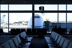 Flughafen, Warteraum. Lizenzfreies Stockfoto