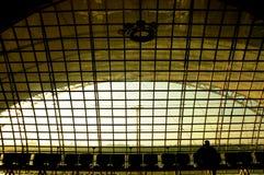 Flughafen-Wartezeit-Übertragung Lizenzfreie Stockbilder