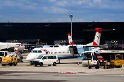 Flughafen Wien Flughafen Stockfotografie