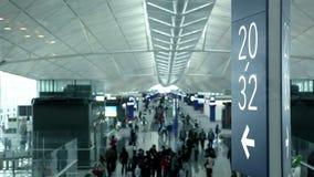 Flughafenabfertigungsgebäude stock video footage