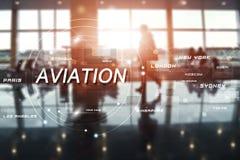 Flughafenabfertigungsgebäudegeschäftshintergrund Lizenzfreie Stockfotos