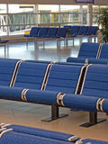 Flughafenabflugaufenthaltsraum   Stockfoto