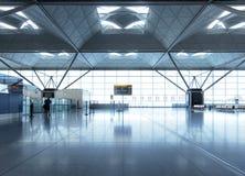 Flughafenaufenthaltsraum Stockfoto