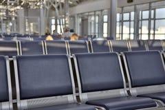 Flughafenaufenthaltsraum Stockbild