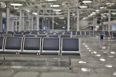 Flughafenaufenthaltsraum Stockfotos