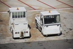 Flughafenausrüstung stockfotos