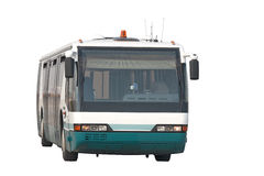 Flughafenbus stockbild