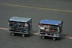Flughafenfahrzeug Stockfotografie