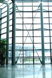 Flughafenfenster Lizenzfreie Stockfotos