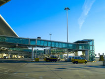 Flughafengatter Stockfotos