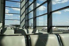 Flughafengatter Lizenzfreies Stockfoto