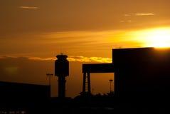 Flughafenkontrollturm Lizenzfreie Stockfotografie