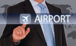 Flughafenkonzept Lizenzfreies Stockbild
