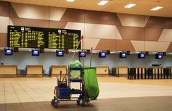 Flughafenreinigung Stockbild