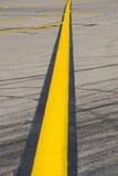 Flughafenrollbahn Stockbilder