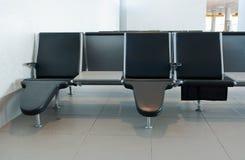 Flughafensitze Stockfotos
