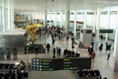 Flughafenszene Stockbild