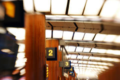 Flughafenszenen Lizenzfreies Stockbild