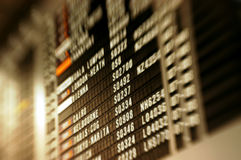 Flughafenszenen Lizenzfreies Stockfoto